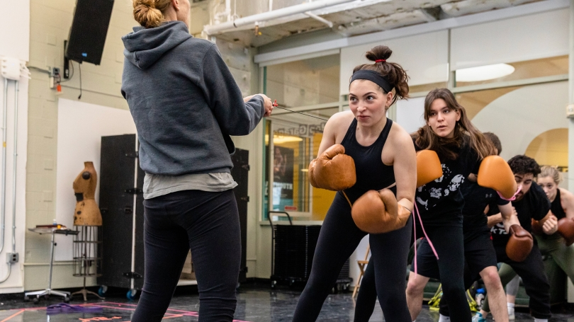 SSOB boxing practice
