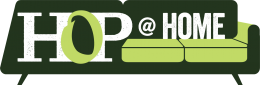 Hop at Home logo