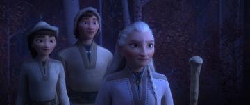 Threee Northuldra tribe members from FROZEN II