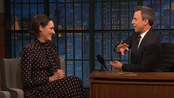 Phoebe Waller-Bridge on Seth Meyers