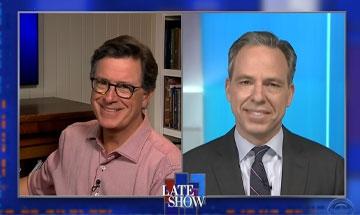 Jake Tapper on Stephen Colbert