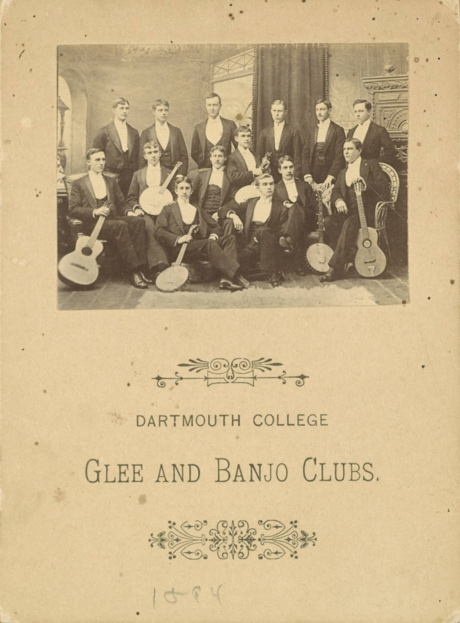 Dartmouth College Glee and Banjo Club from 1894