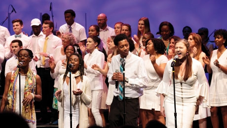 Dartmouth College Gospel Choir Fall 2019