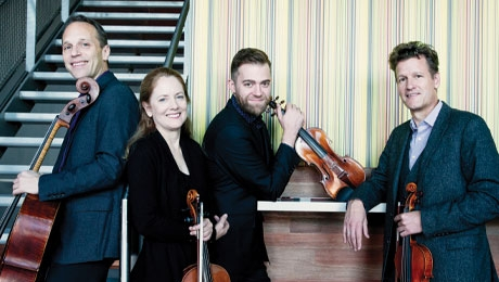 St. Lawrence String Quartet at the Hop
