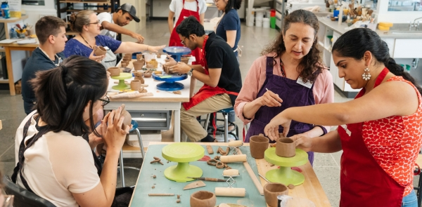 Ceramics Studio at the Hop