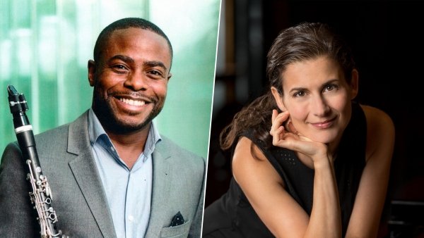 Anthony McGill and Anna Polonsky
