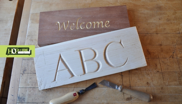 Letter and Chip Carving Series