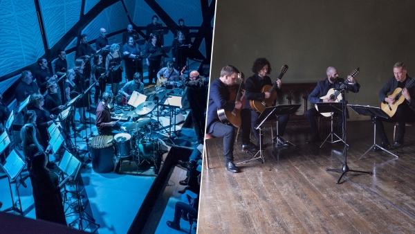 The Crossing and Dublin Guitar Quartet
