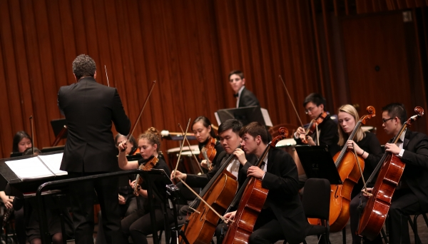 Dartmouth Symphony Orchestra Spring 2019 at the Hop