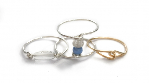 Delicate Wire Rings