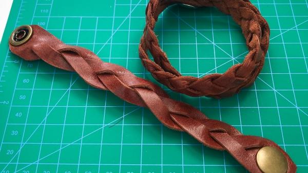Magic Braid Leather Bracelets