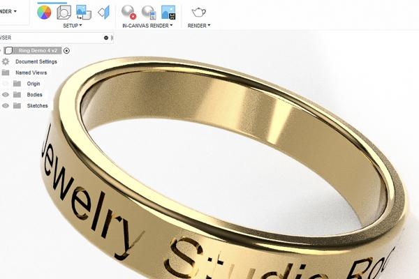 3d modeling - Jewelry Studio