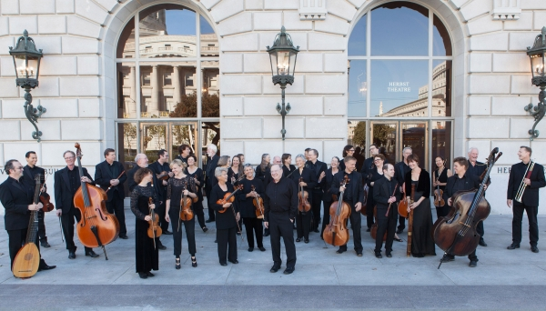 Philharmonia Baroque Orchestra at the Hop