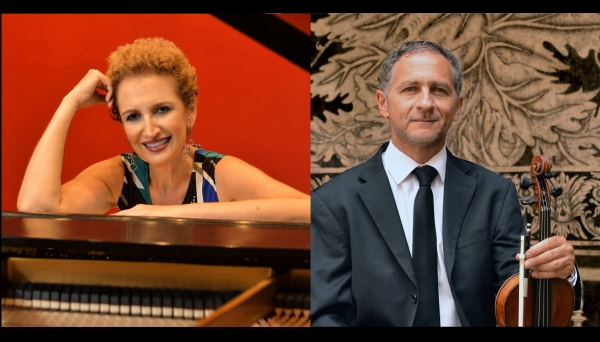 Sally Pinkas and Saul Bitran at the Hop