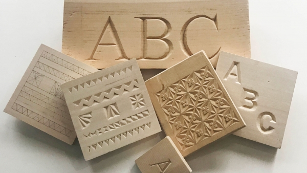 Letter and Chip Carving