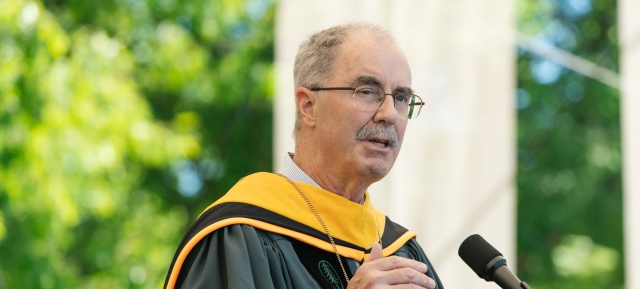 Phil Hanlon at the 2019 Dartmouth Commencement