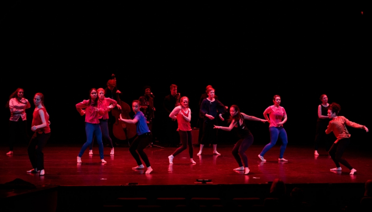 Dartmouth Dance Ensemble Spring 2020 at the Hop