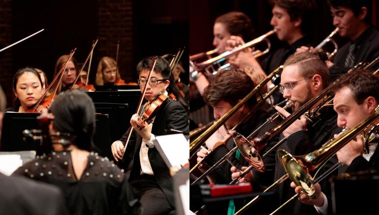 Dartmouth Symphony Orchestra & Barbary Coast Jazz Ensemble Winter 2020