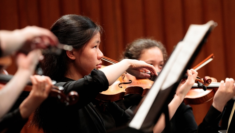 Dartmouth Symphony Orchestra Student Showcase Fall 2019