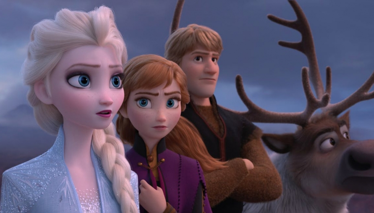 Elsa, Anna, Kristoff, and Sven - Frozen 2 - Hop Film
