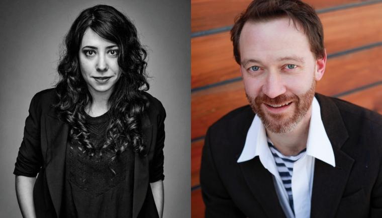 John Heginbotham and Rachel Chavkin
