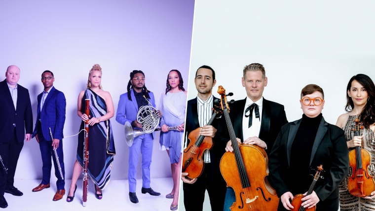 Imani Winds and Catalyst Quartet