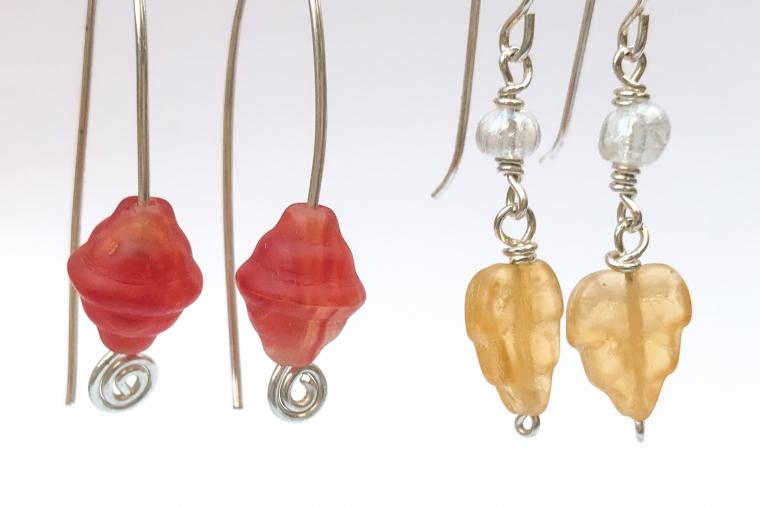 Wire Earrings - Jewelry Studio