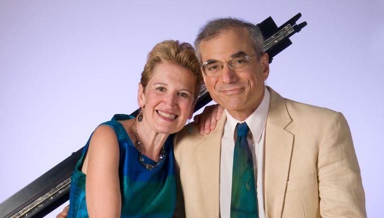 Sally Pinkas and Evan Hirsch at the Hop