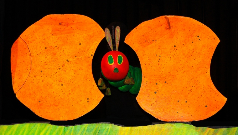 The Very Hungry Caterpillar at the Hop