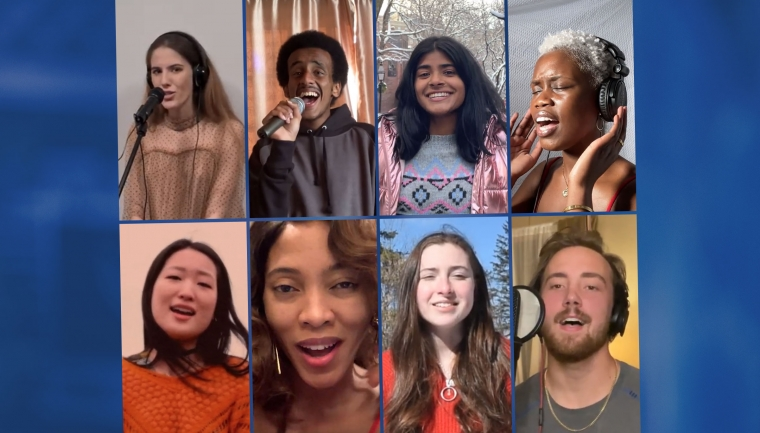 Dartmouth Idol Finalists 2021