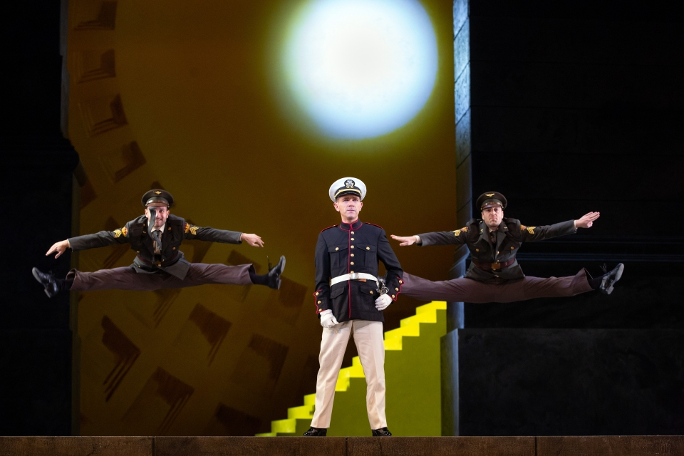 Dancing soldiers