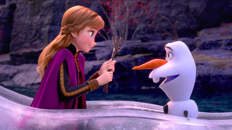Anna and Olaf - Frozen 2 - Hop Film