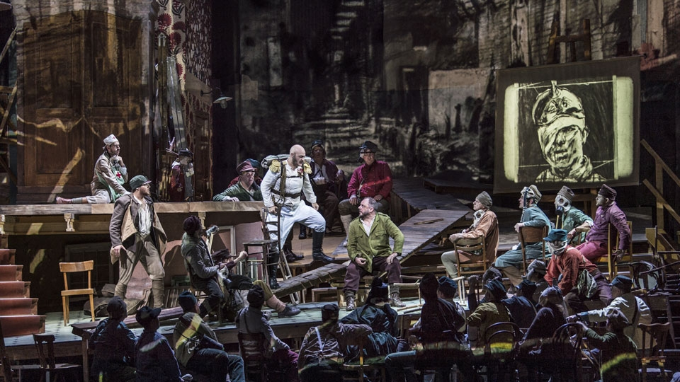The Met Opera in HD: Wozzeck image 1