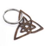 Hand-Sawn Key Chain