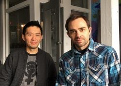 Byron Au Yong and Aaron Jafferis photo