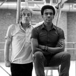 Karel Shook and Arthur Mitchell