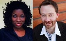Monica White Ndounou and John Heginbotham