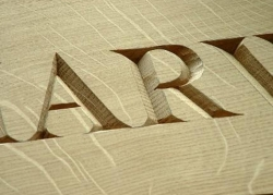 Letter Carving - Woodworking