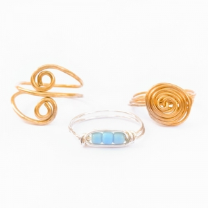 Wire Rings - Jewelry Studio